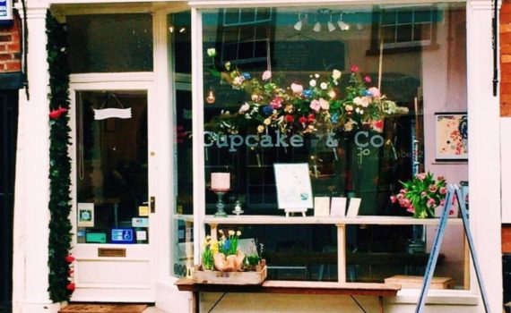 Cupcake & Co Shop Front